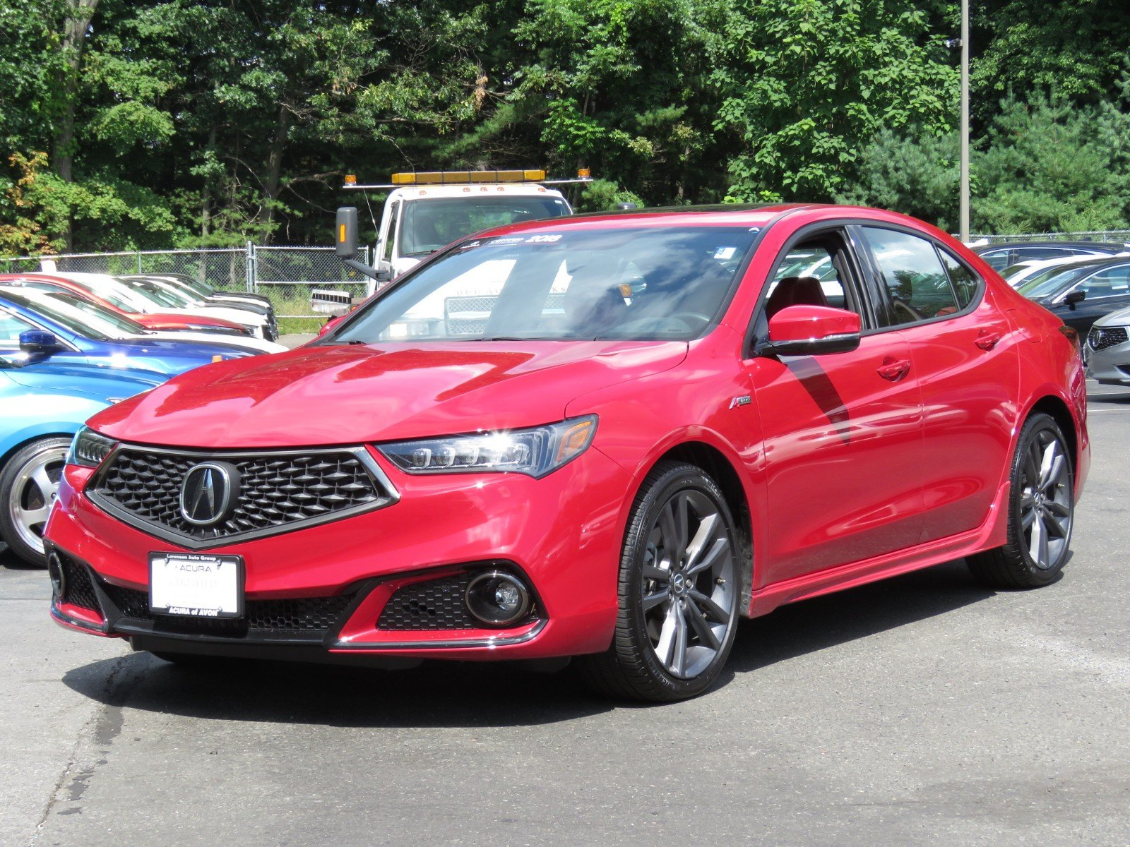 Pre Owned 2018 Acura TLX w A SPEC Pkg 4dr Car in Westbrook
