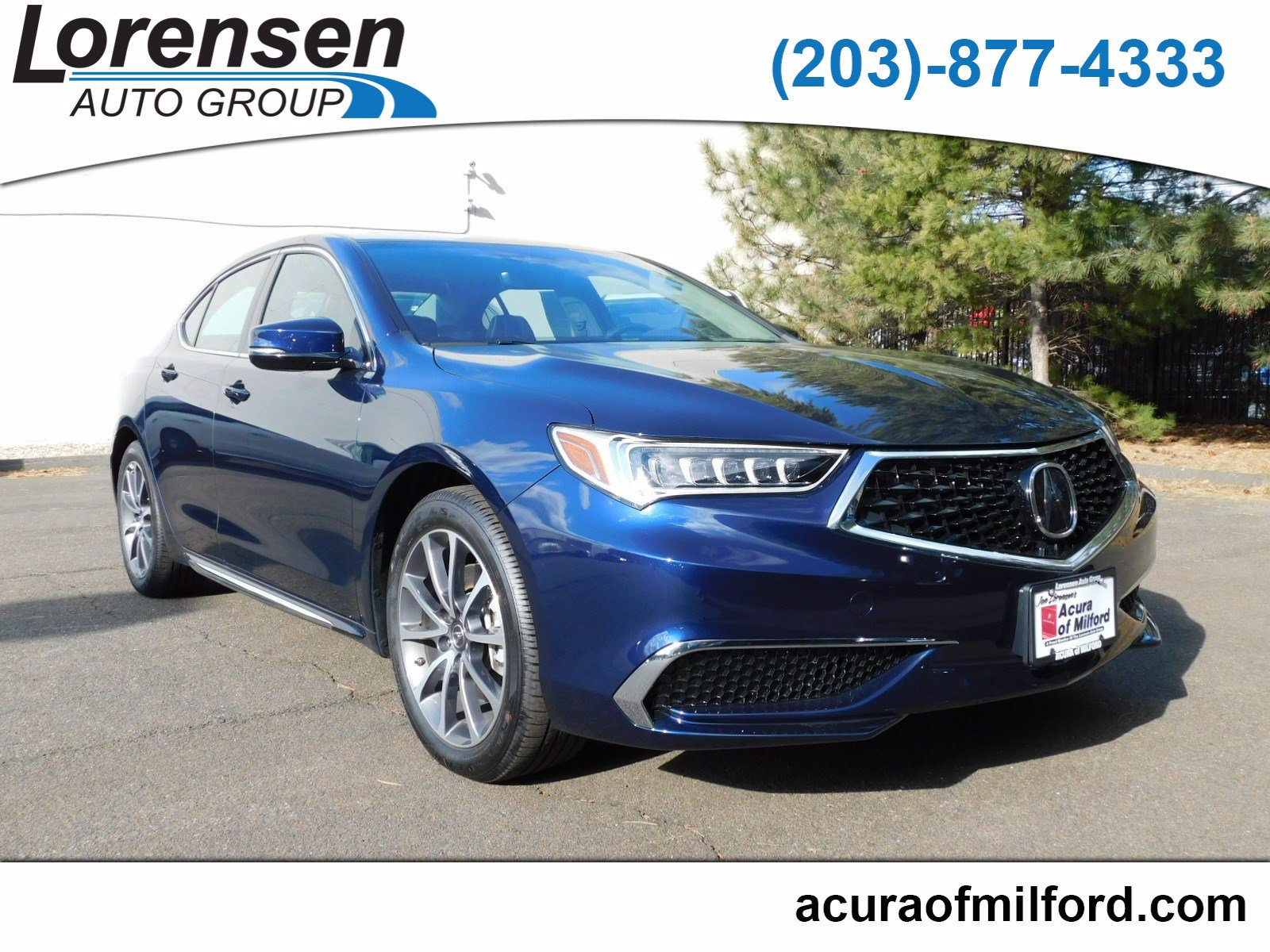 Pre Owned 2018 Acura TLX V6 w Technology Pkg 4dr Car in Westbrook