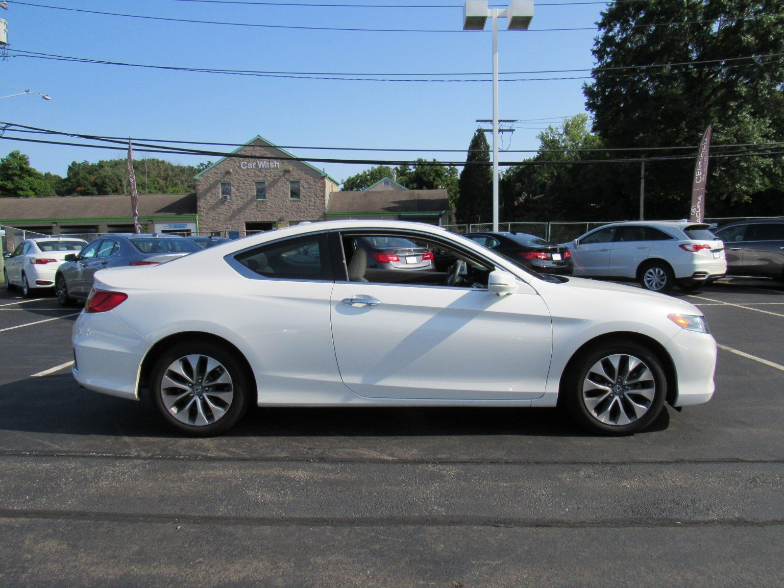 Pre Owned 2015 Honda Accord Coupe EX L