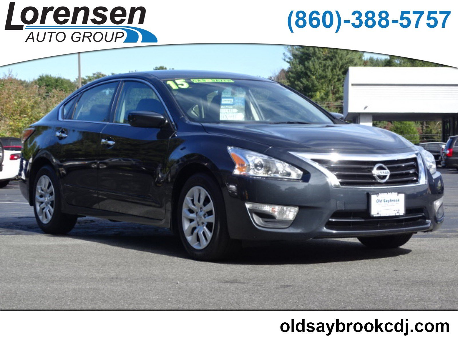 Lovely Pre Owned 2015 Nissan Altima 2.5 S
