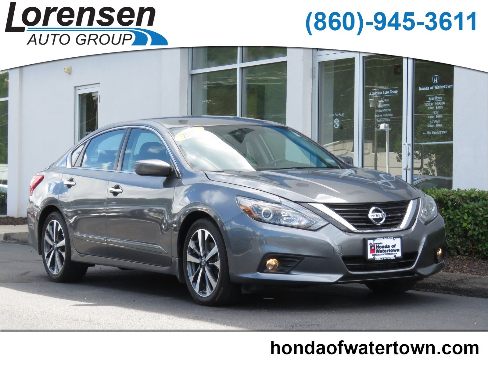 ... Front Wheel Drive 4dr Car. Pre Owned 2016 Nissan Altima 2.5 SR