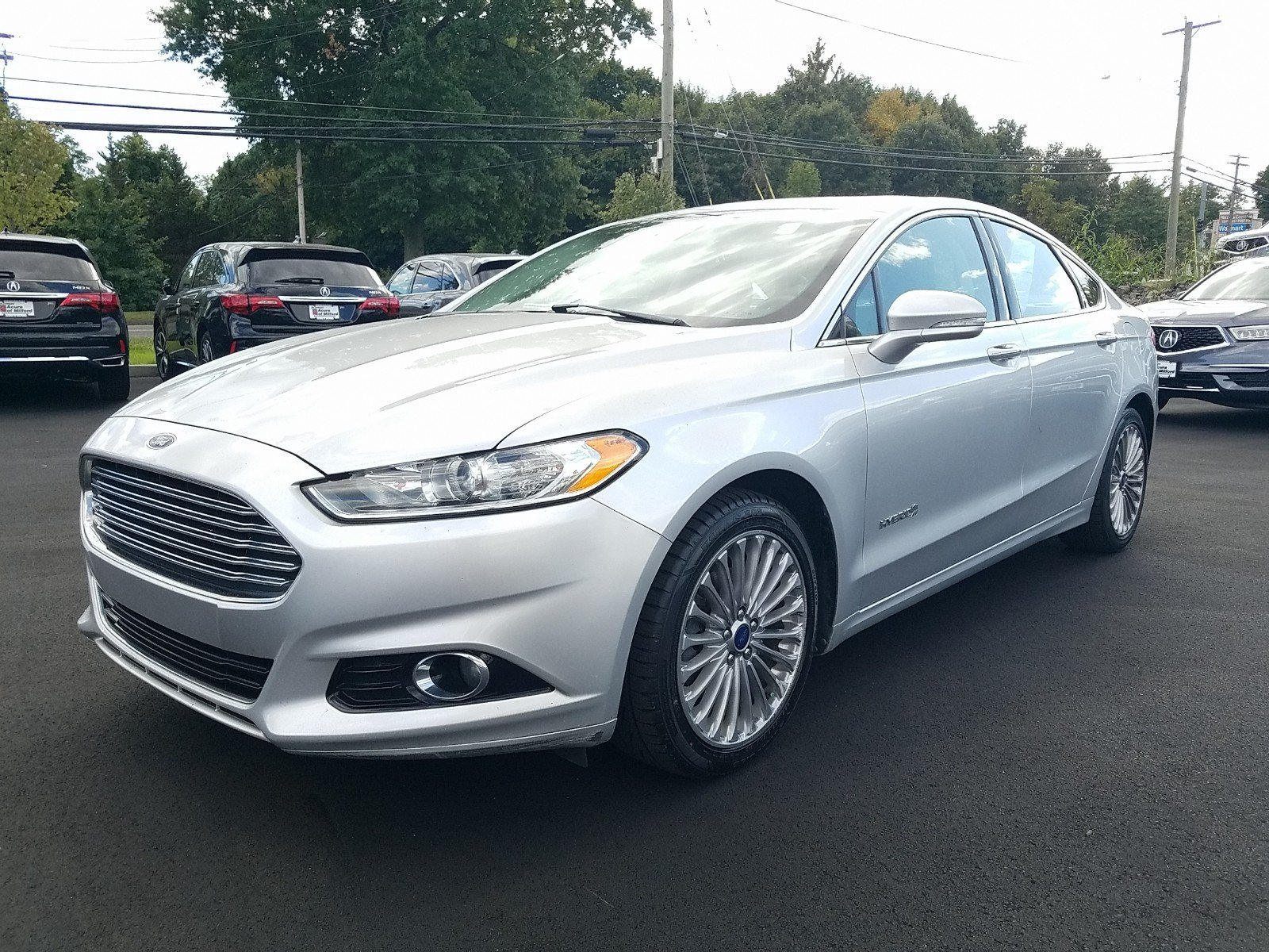 Pre-Owned 2014 Ford Fusion Titanium Hybrid