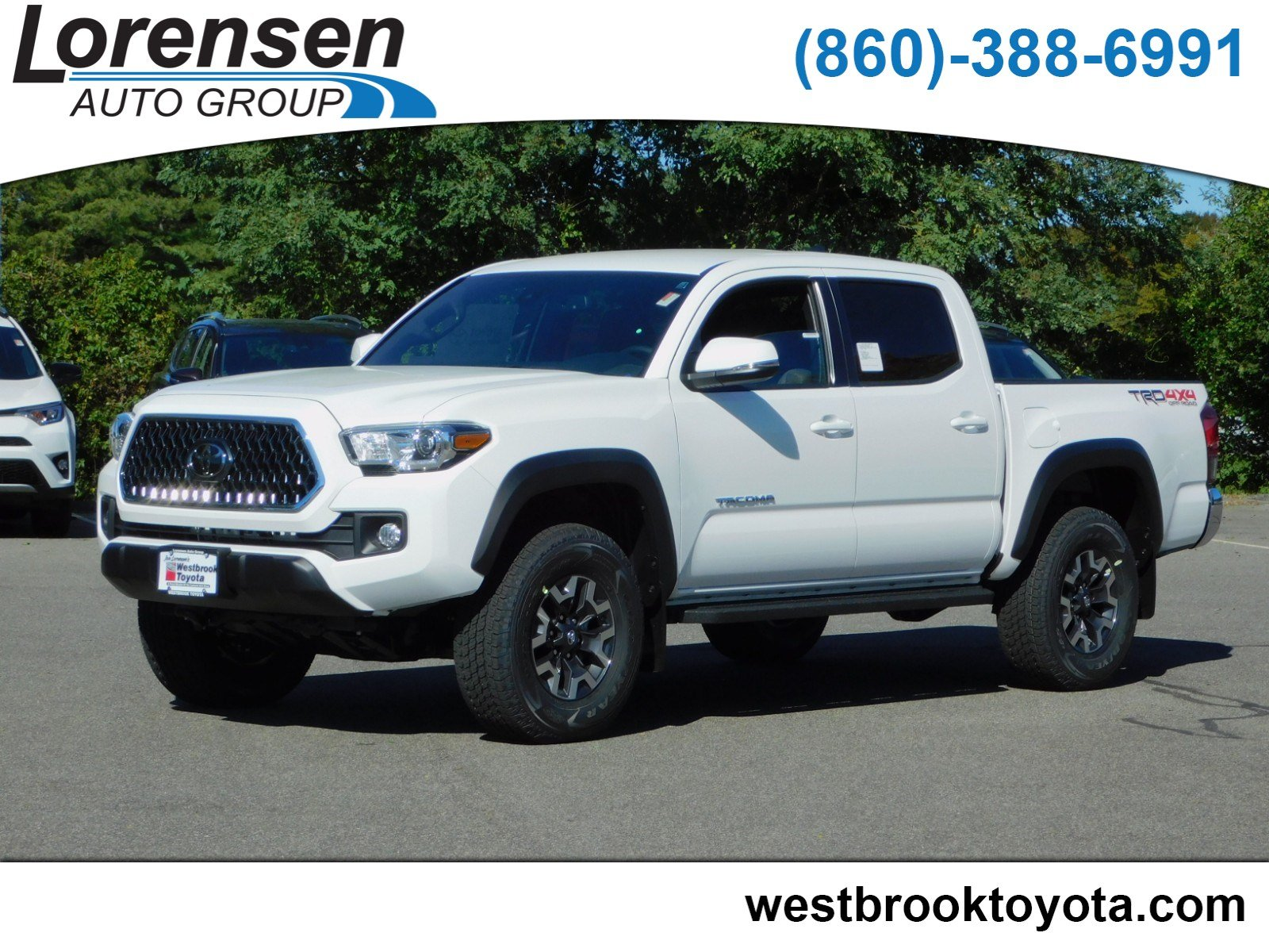 New 2019 Toyota Ta a TRD f Road Double Cab in Westbrook