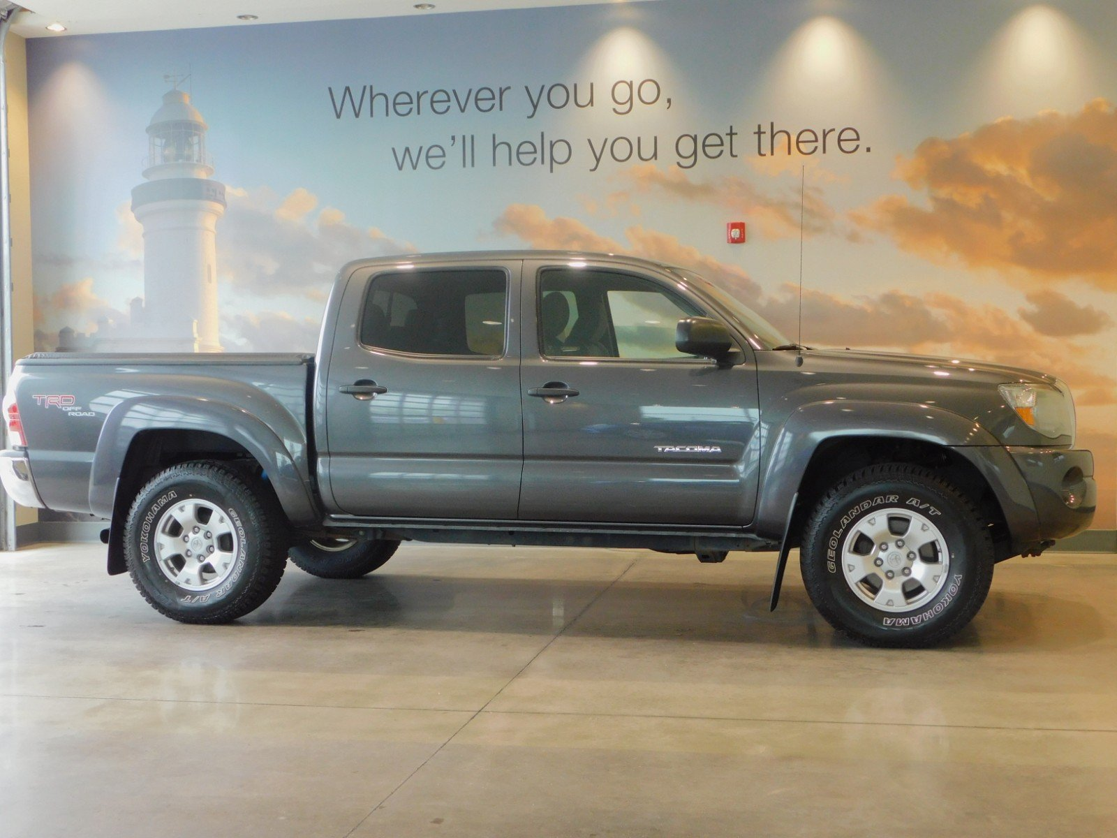 Pre Owned 2011 Toyota Tacoma Double Cab In Westbrook 18935a Sienna Rear Differential Support