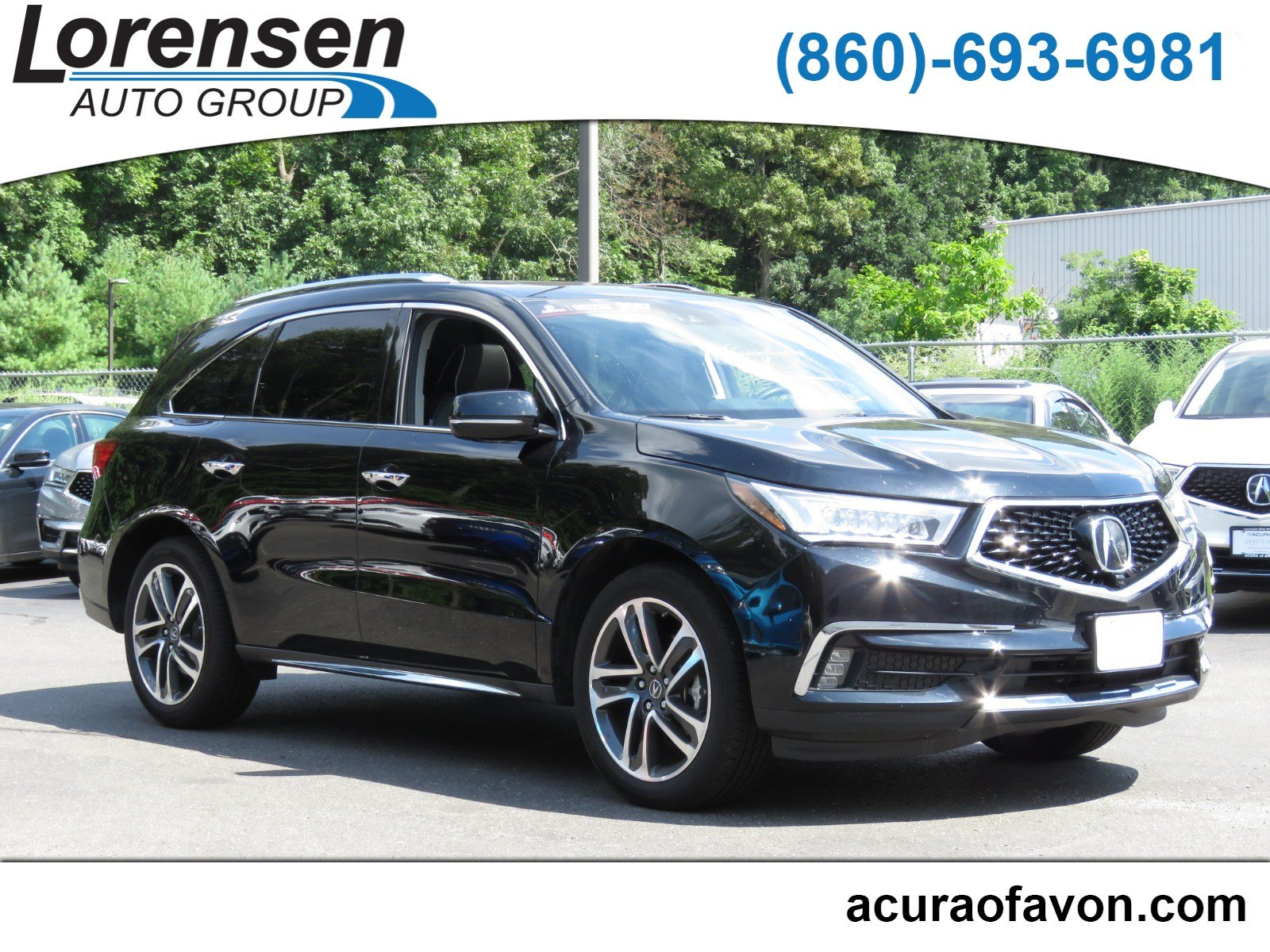 Pre Owned 2017 Acura MDX w Advance Entertainment Pkg Sport Utility