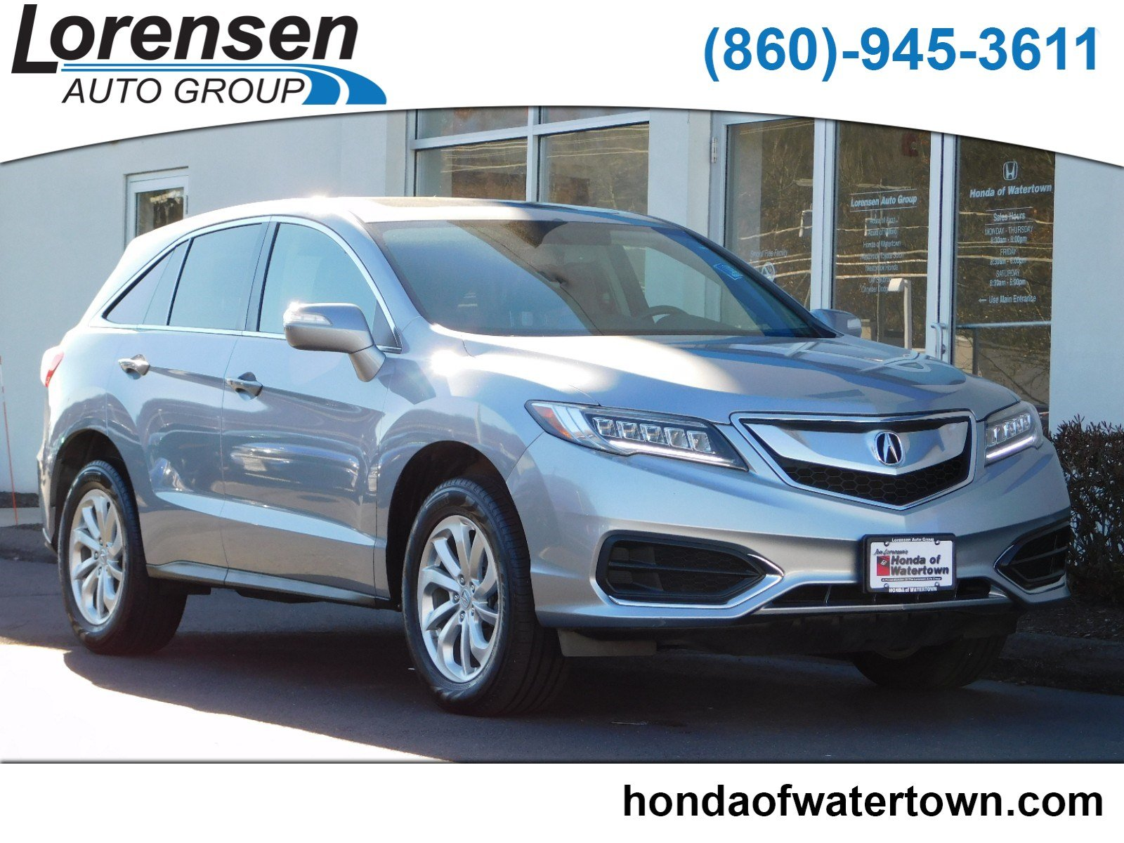 Pre Owned 2016 Acura RDX Tech Pkg Sport Utility in Westbrook