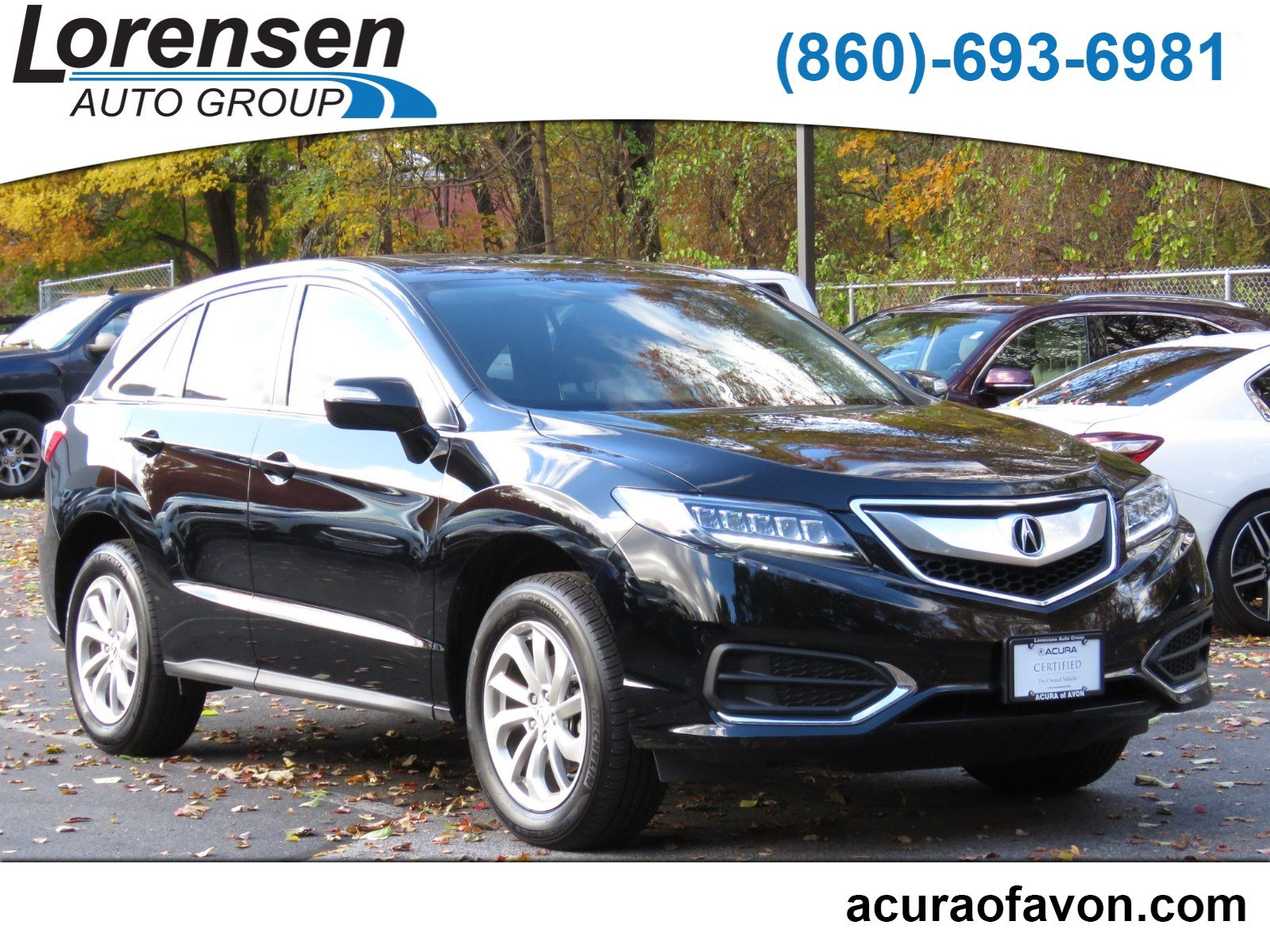 Pre Owned 2018 Acura RDX w Technology Pkg Sport Utility in Westbrook