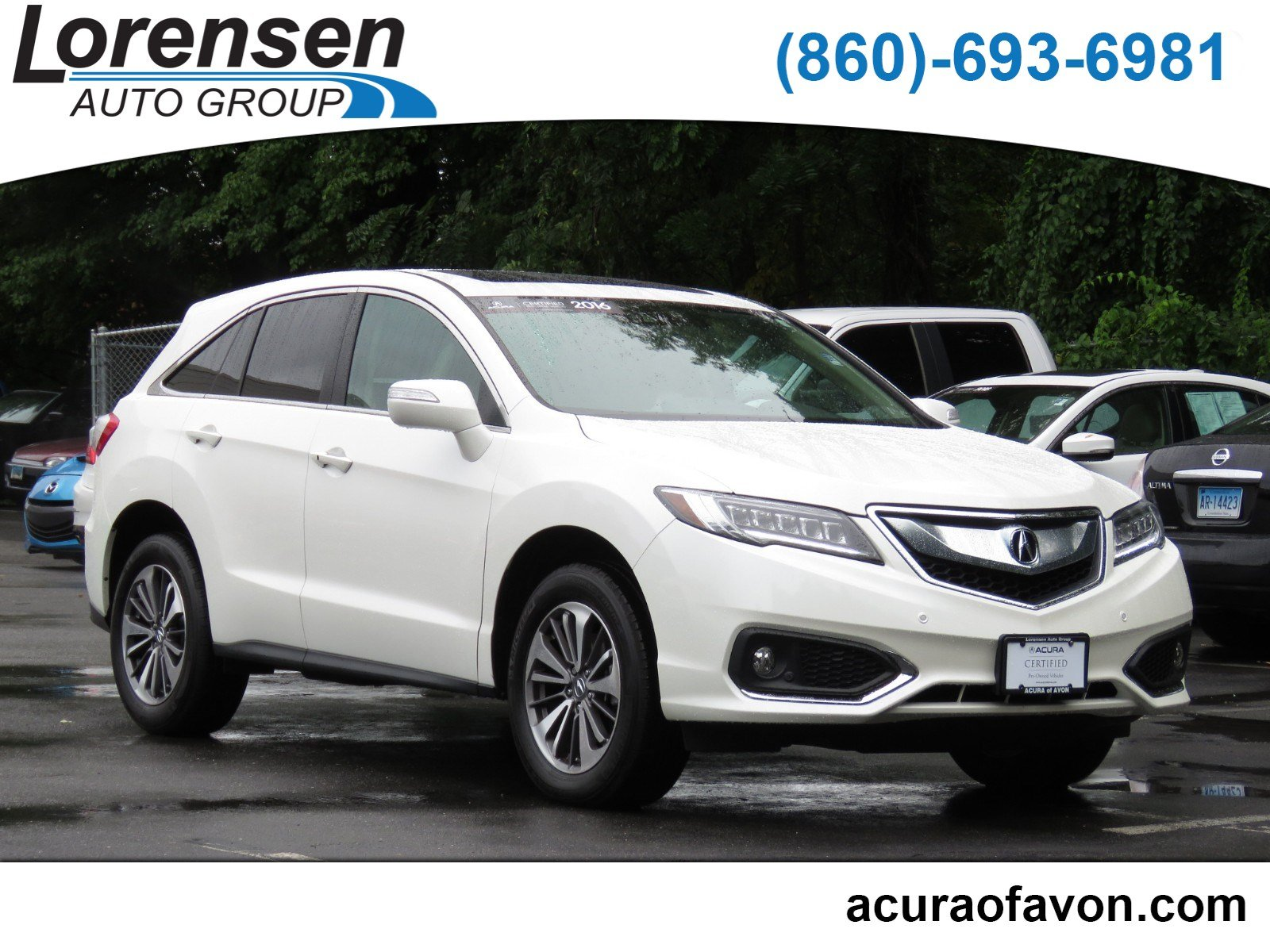 PreOwned Acura RDX Advance Pkg Sport Utility In Westbrook - Pre own acura