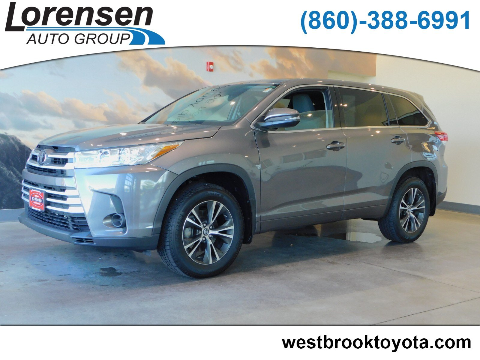 Certified Pre Owned 2018 Toyota Highlander Le