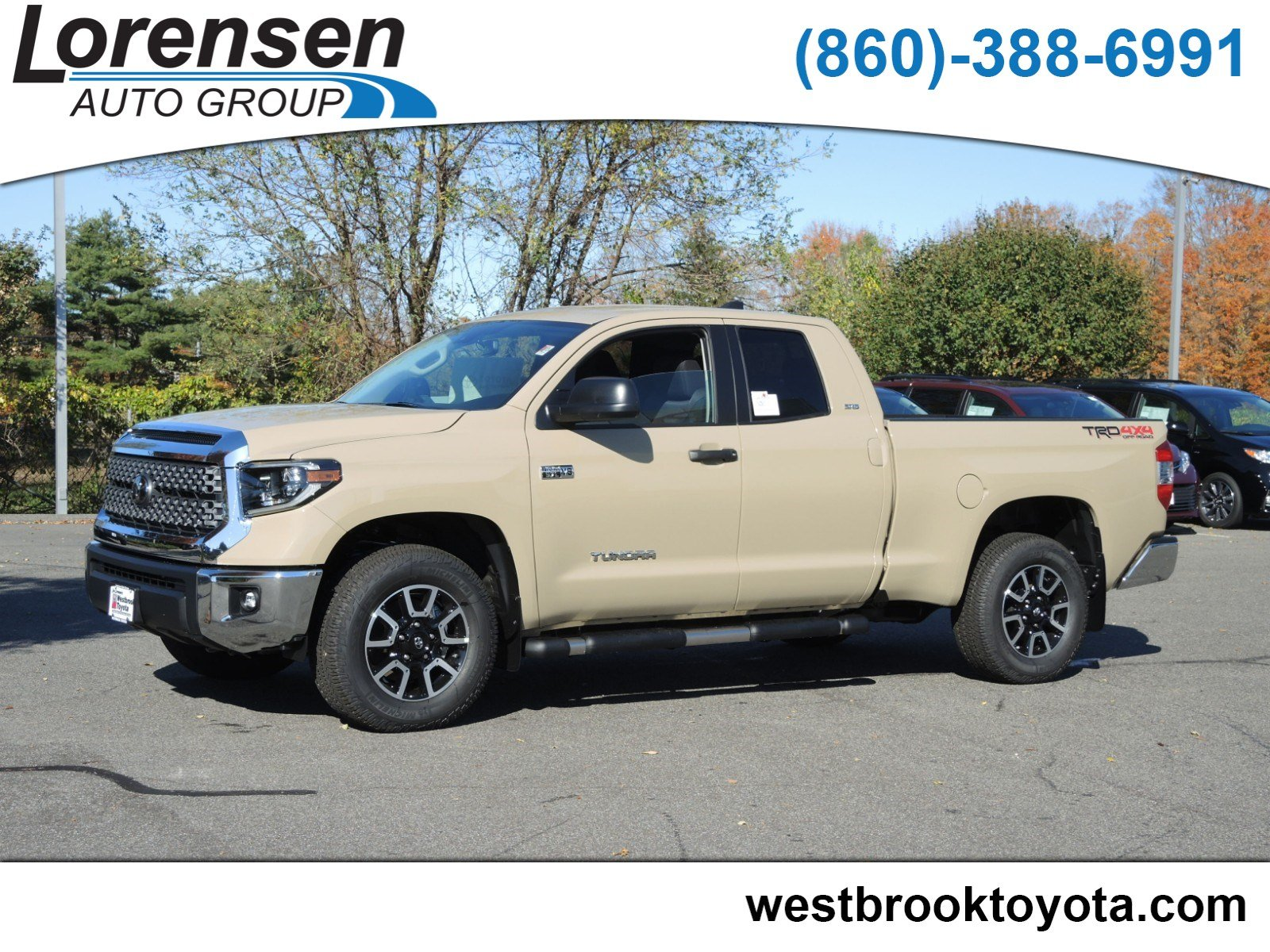 New 2020 Toyota Tundra Sr5 Double Cab 6 5 Bed 5 7l Natl