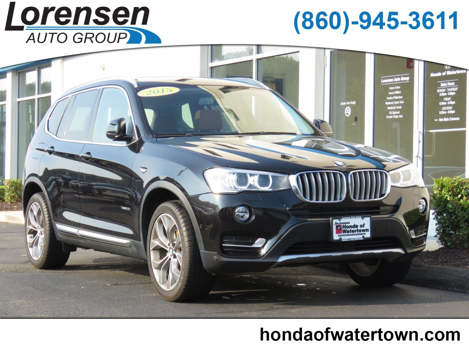 Pre Owned 2015 BMW X3 xDrive28i All Wheel Drive Sport Utility