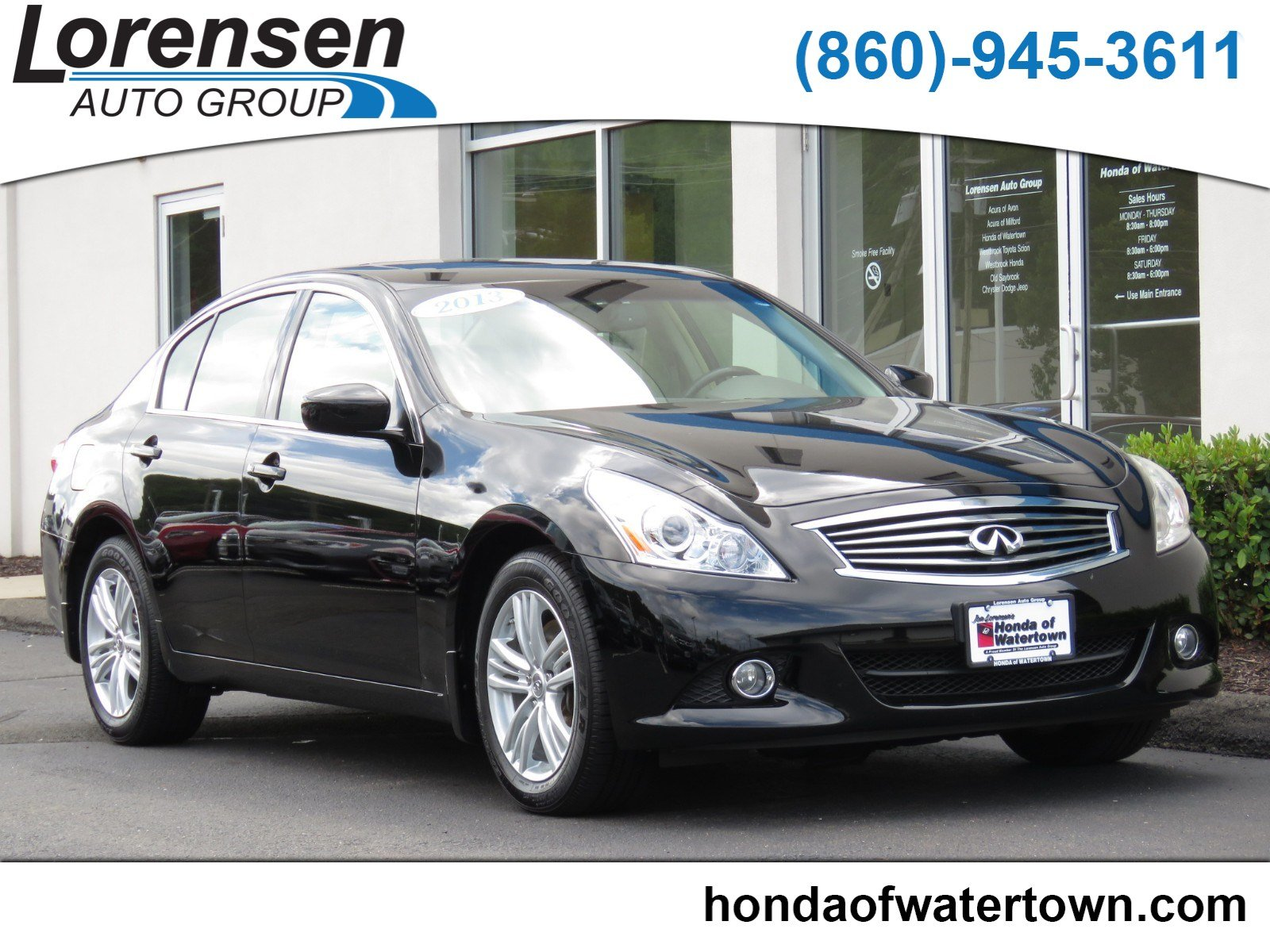 Pre Owned 2013 INFINITI G37 Sedan X 4dr Car in Westbrook