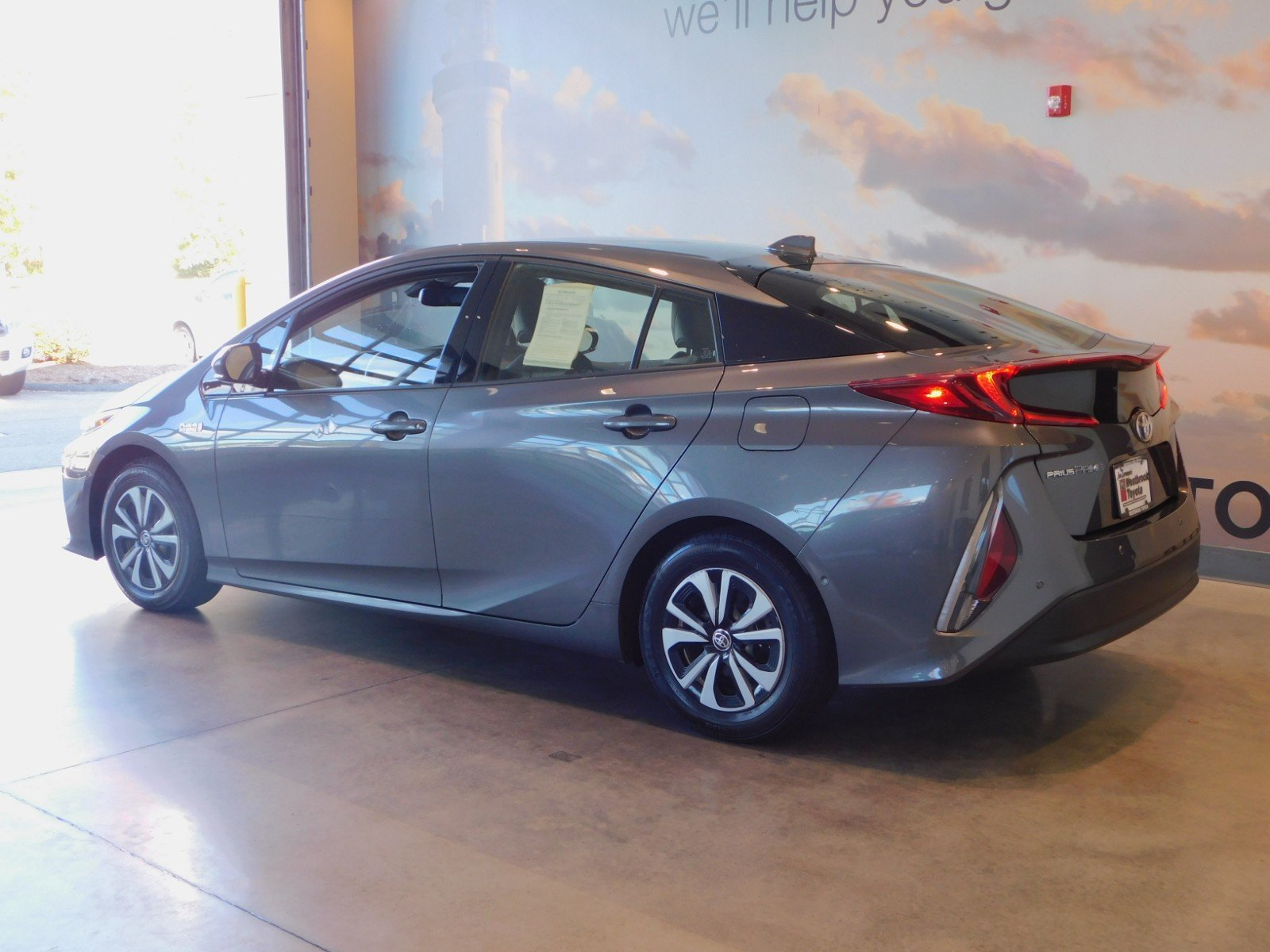 Pre Owned 2017 Toyota Prius Prime Advanced Hatchback In Westbrook