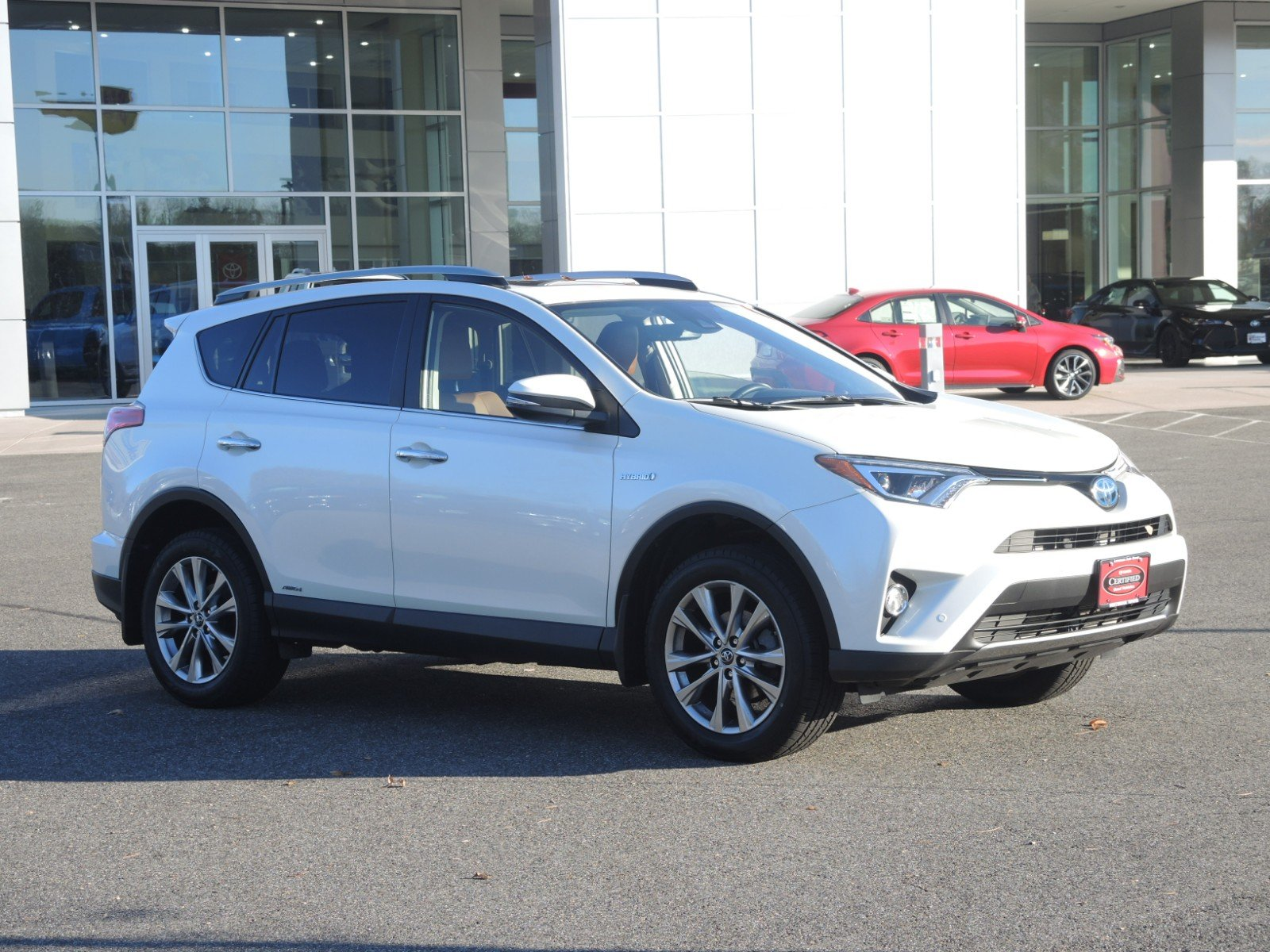 Certified Pre-Owned 2017 Toyota RAV4 Hybrid Limited