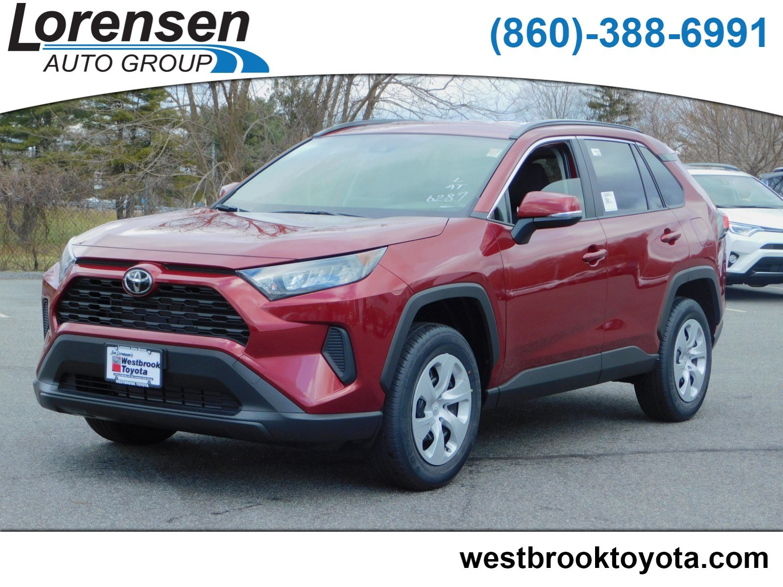 New 2019 Toyota Rav4 Le Sport Utility In Westbrook 19210