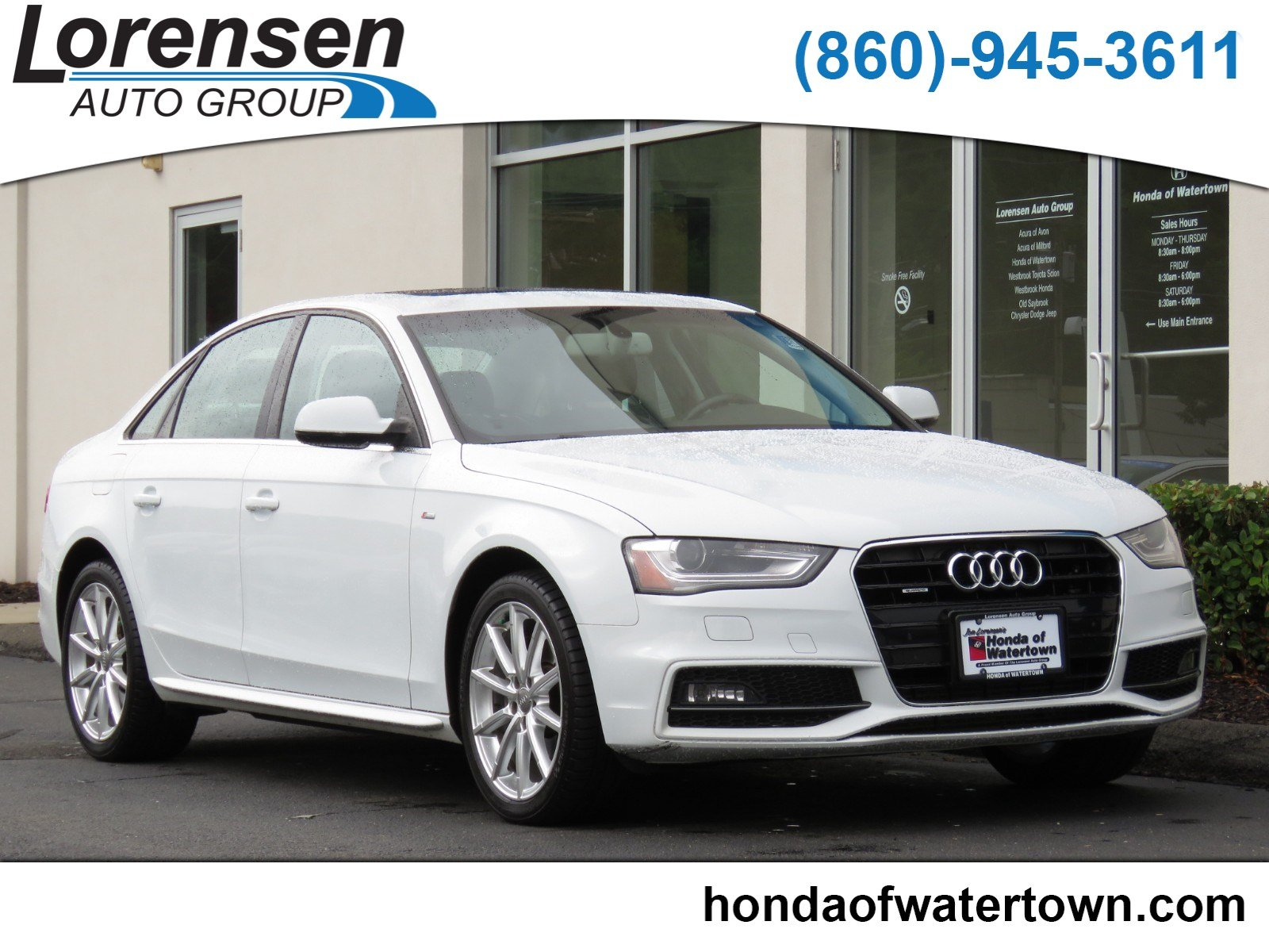 Pre Owned 2014 Audi A4 Premium Plus 4dr Car in Westbrook