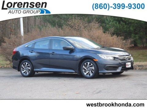 Pre-Owned 2016 Honda Civic 4dr CVT EX