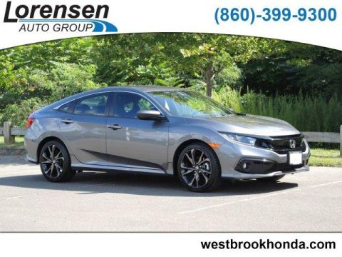 Pre-Owned 2019 Honda Civic Sport CVT