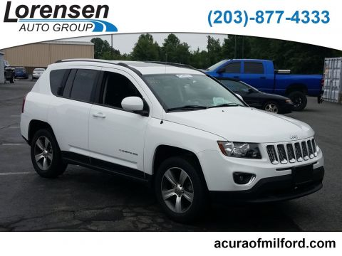 Pre-Owned 2017 Jeep Compass High Altitude