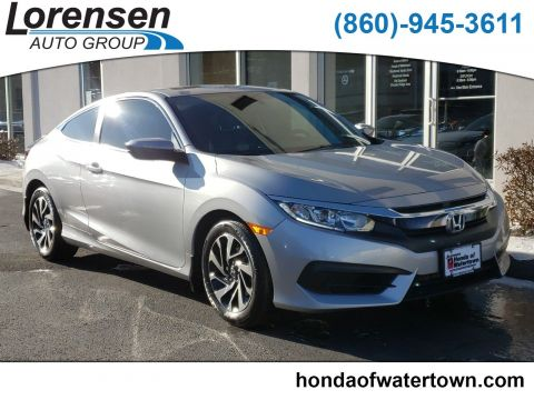 Pre-Owned 2016 Honda Civic Coupe LX-P