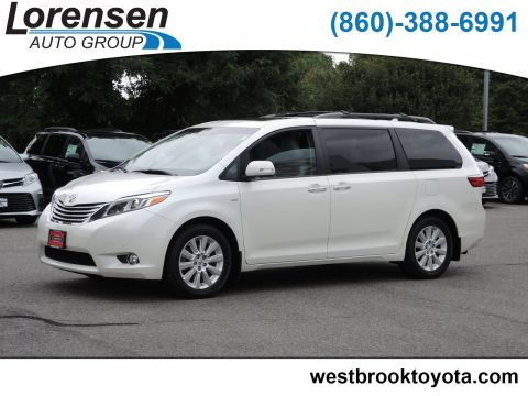 Certified Pre-Owned 2016 Toyota Sienna Ltd Premium